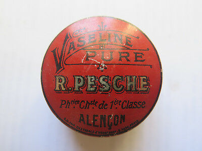 PURE VASELINE SMALL TIN by R PESCHE FRANCE c1920s