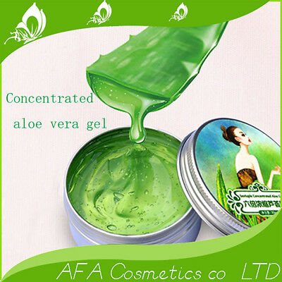 Pure Aloe Vera Gel Moisturizing Remove Acne Face Skin Care Sixfold Concentrated