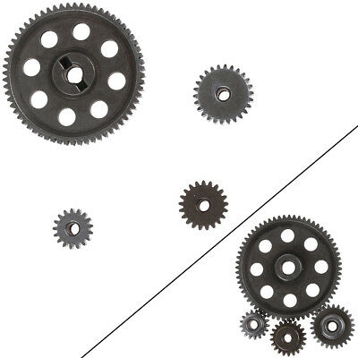 1Pc Steel Metal Spur Differential Main Gear 5MM Motor Pinion 3.17MM for HSP