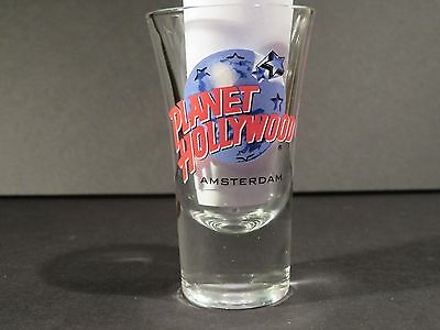 "Amsterdam Planet Hollywooh Ph Shot Glass 3 1/2"" Tall"
