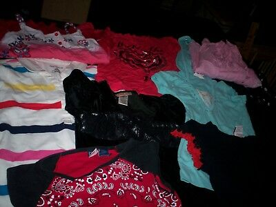 Lot of GIRL'S CLOTHES Size 8 & 8-1/2 DRESSES TOPS Adorable!!!