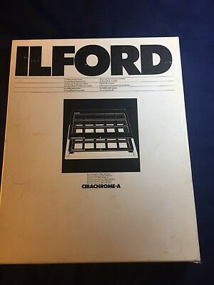 ILFORD Cibachrome-A Contact Printing Frame Tray Kit - NEW in Box