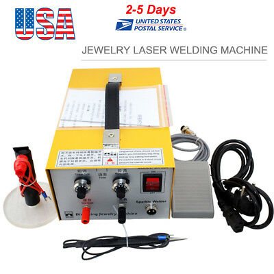 Pulse Sparkle Spot Welder Jewelry Welding Machine Gold Silver Platinum 110V USA!
