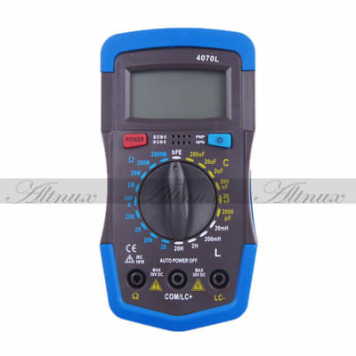 Digital LCD LCR RCL Inductance Capacitance Resistance Meter Multimeters xsa