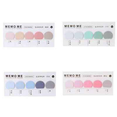 1pcs Index Paper Sticker Sticky Notes Bookmark Notebook Memo Pad Stationery