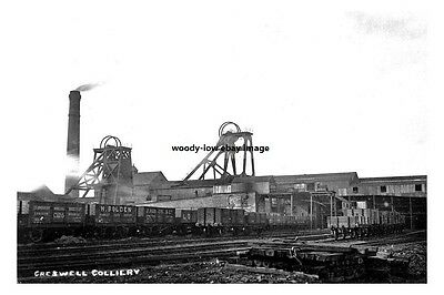 pt0455 - Creswell Colliery , Nottinghamshire - photo 6x4