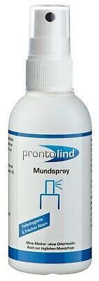 "Prontolind ""Mundspray"" - Optimale Pflege für Oralpiercings (75ml)"