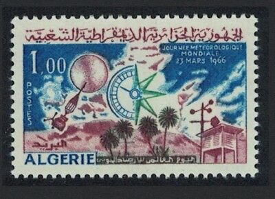 Algeria World Meteorological Day 1v SG#458