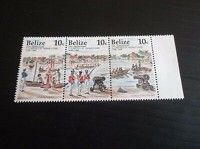 Belize 1998 Sg 1230-1237 Bicent Of Battle Of St.georges Cay   Mnh