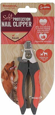 Dog Cat Nail Clippers Rosewood,Soft Protection Salon Quality. Small or Large