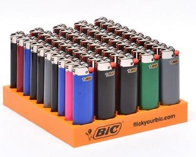 8 Brand New Big Bic Lighters Full Size Assorted Colors Super Sale! Amazing Deal