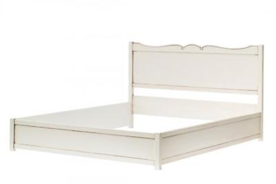 Double 2 Squares Gloss White Antique Cm. 180x206x105 (removable) Classic Style