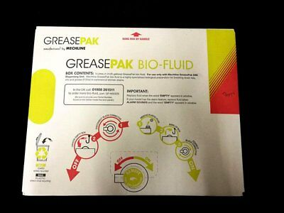 5L Grease Pak Biofluid Refill Pack Degrades Fat Oil & Grease Drain Cleaner