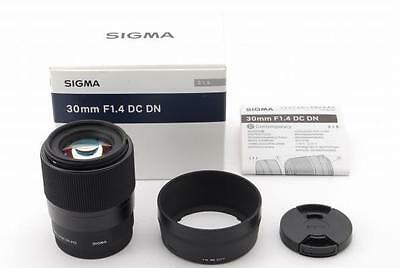 Sigma Standard Lens Comtemporary 30mm F1.4 DC DN for Sony E mount APS-C New