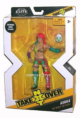 Wwe Wrestling Elite Series Nxt Take Over Superstar Asuka Nxt Debut 2015 Mattel