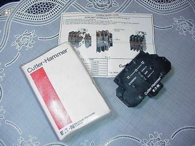 Cutler Hammer C320KG1 Side Mount Side Adder Auxiliary Contact NEW IN BOX!