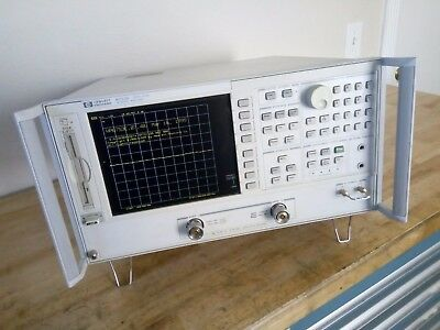 HP 8753E 30kHz - 6GHz Vector Network Analyzer w/ 002 006 1D5 (Guaranteed)