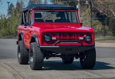 1971 Ford Bronco SUV Restored with modern technology and contemporary design by Urban Gears.