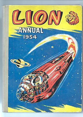Lion Annual - 1954  - EXCELLENT!!! First issue!