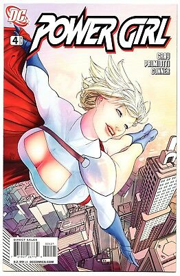 Power Girl #4 Guillem March Variant Cover 2009 Series High Grade