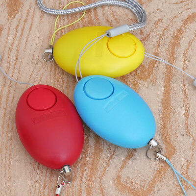 Egg Self Defense Keychain Personal Alarm Emergency Siren Song Survival Whistle