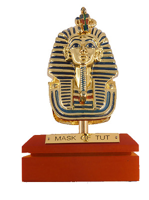 **Rare** King Tutankhamun Mask Statue Replica, Fine Ancient Egyptian Statues