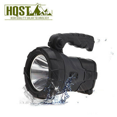 Rechargeable Waterproof Solar Panel LED Searchlight Portable Camping Outdoor