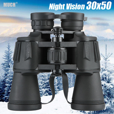35x50 Night Vision Military Powerful HI-DEF HD Binoculars Optics Hunting Camping