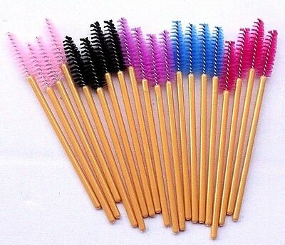 Mascara Wands Applicators False Eyelashes Extensions Brushes Makeup Disposable