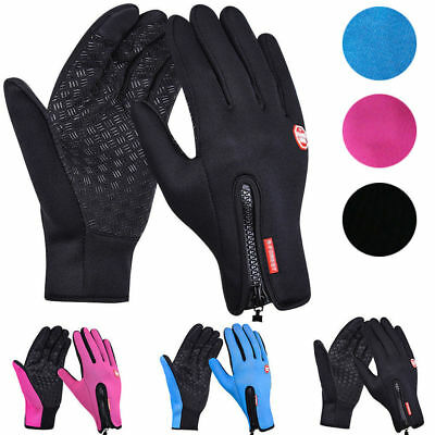 Winter Warm Windproof Waterproof Anti-slip Thermal Touch Screen Gloves