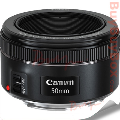 Canon EF 50mm f/1.8 STM Retail Pack  + Cleaning Kit