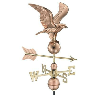 American Eagle Weathervane Heavy Duty Top Quality Pure Polished Finish Copper