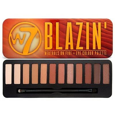 W7 Blazin' Neutrals on Fire - Eye colour Palette - 12 Shade