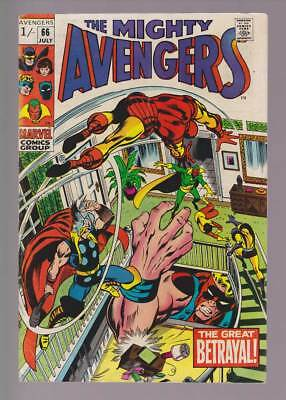 Avengers # 66  Early appearance of Ultron !  grade 5.0 scarce book !