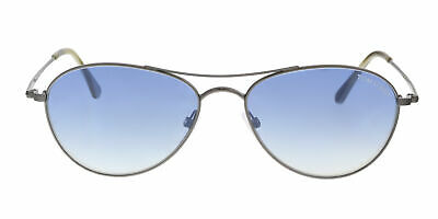 4474401984f TOM FORD FT0495 S 12W OLIVER Pewter Aviator Sunglasses -  105.99 ...