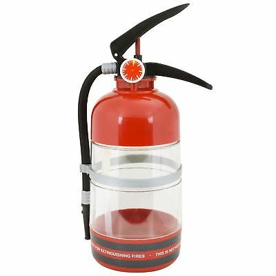 1.5L Novelty Fire Extinguisher Drink Dispenser Hose Easy Refill Fun Party Ware
