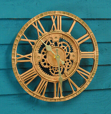 Newby Mechanical Wall Clock Outdoor or Indoor (30cm) by Outside In Designs