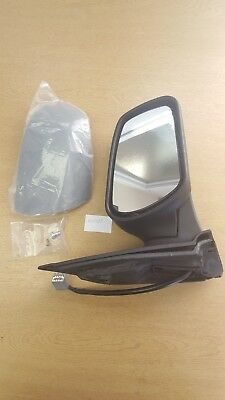 For SKODA OCTAVIA 96-10 Lucas Left Primed Heated Electrical Door Mirror ADP289