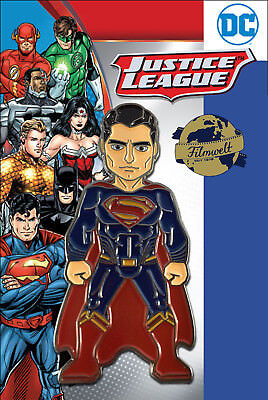 Superman - exklusiver Sammler Collectors Pin Metall - DC Comics - Neuheit