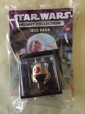 STAR WARS Helmet Collection Issue # 50 JESS PAVA