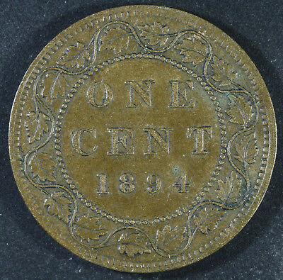 1894 Canada One Cent - AU Condition - Sale