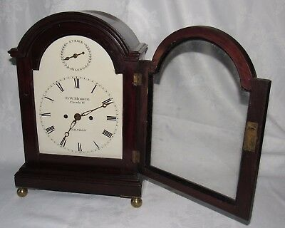 Superb Quality Regency Double Fusee English Bracket Clock