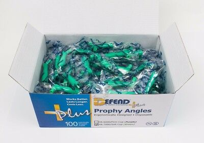 Defend Prophy Angles, Disposable Soft Green PA-7000
