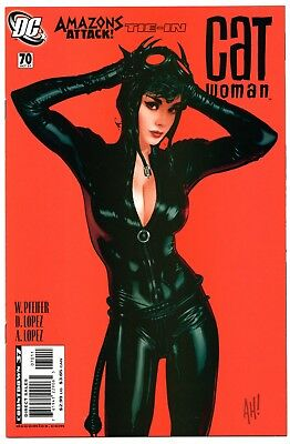 Catwoman #70 Adam Hughes Cover Amazons Attack High Grade