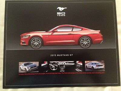 Ford Mustang 50 Year - 1964 thru 2015 RARE Dealer ONLY Promo Set NEW