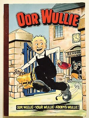OOR WULLIE ANNUAL 1984 / 1985 - Vintage Comic Annual, Sunday Post Character *