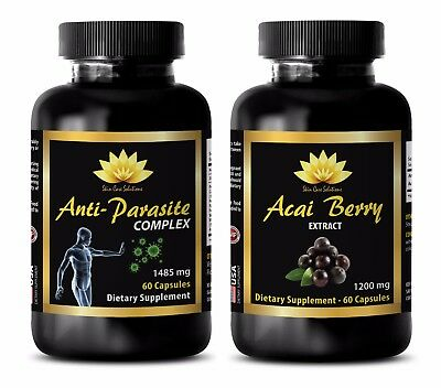 Parasite and worm cleanse for humans - ANTI PARASITE – ACAI BERRY EXTRACT -COMBO