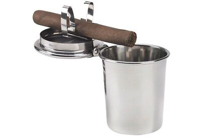 Stinky Cigar Ashtray - Holds One (1) Cigar - For Cars - Fit's in Cup Holders