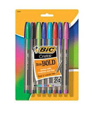 BIC Cristal Xtra Smooth Ball Pen, Medium Point (1.0 mm), Blue, 10-Count