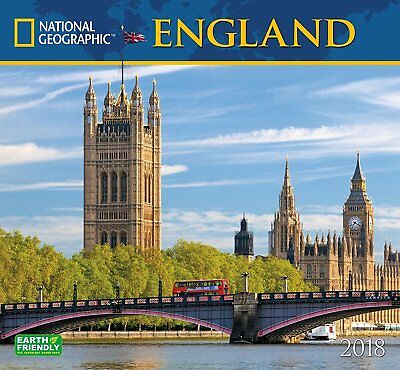 England - National Geographic - 2018 Wall Calendar - Scenic 181234